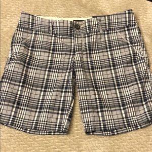 American Eagle plaid shorts